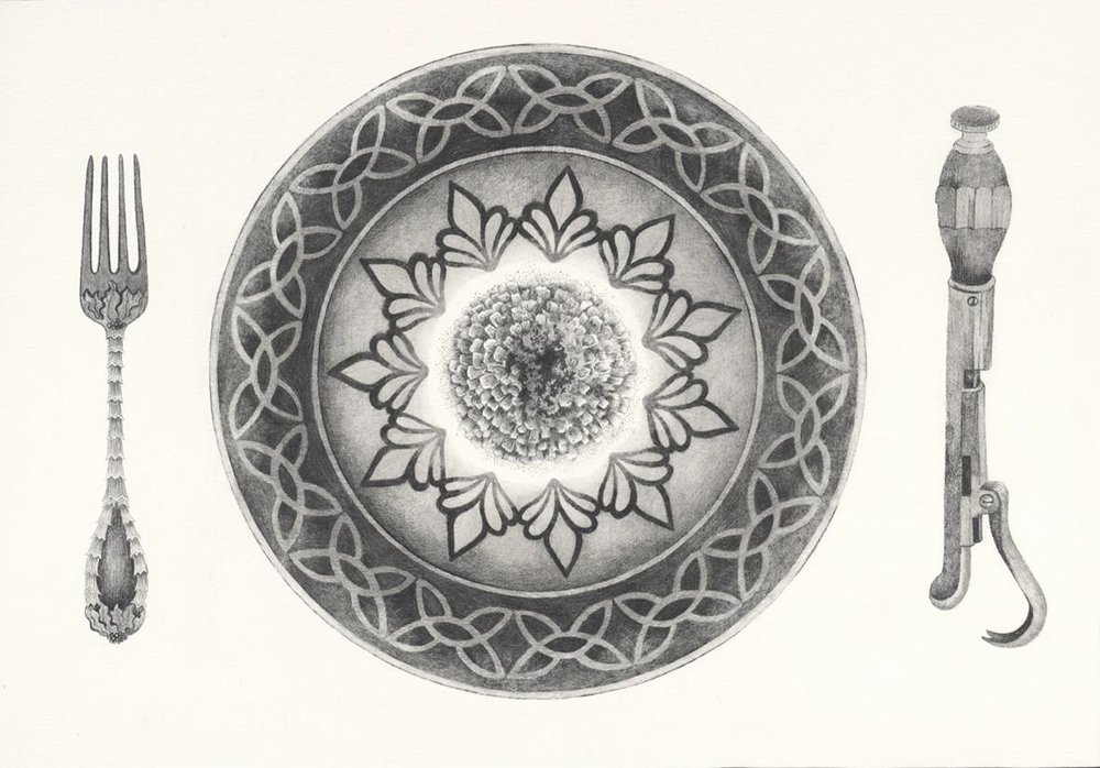 Eva Marathaki_ But we were glad precisely because it was painful_2014_pencil on paper_ 30x43cm.jpg