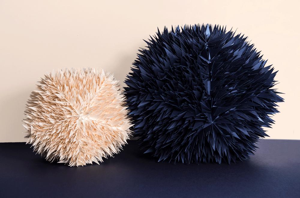 Paper sculpture – Antalis storefront