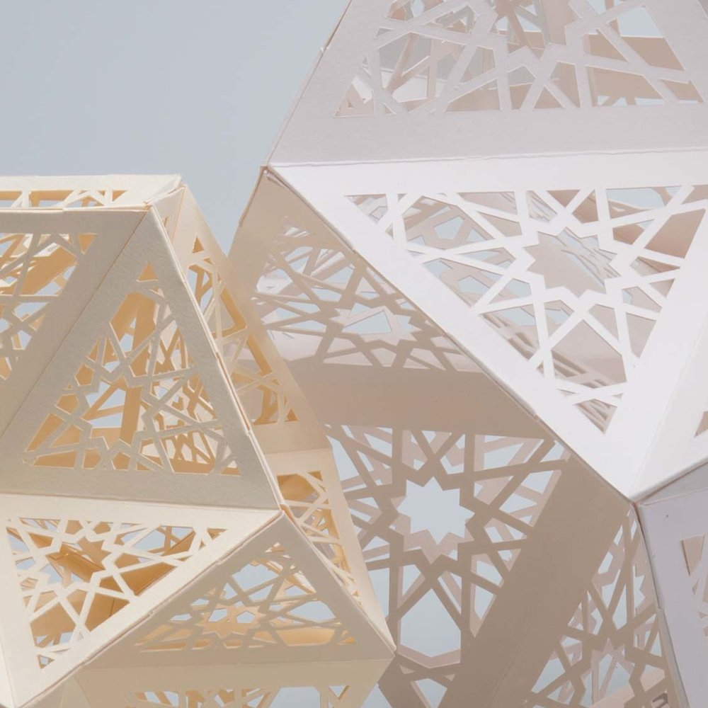 Paper Sculptures for Antalis Storefront