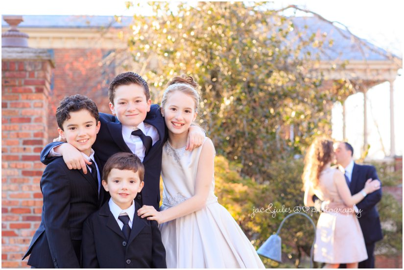 formal family communion photo session by jacnjules at The Manor in West Orange, NJ