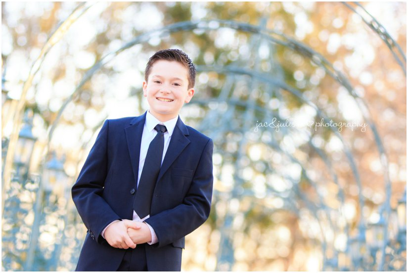 Handsome boy at the manor by west orange, nj family photographer jacnjules