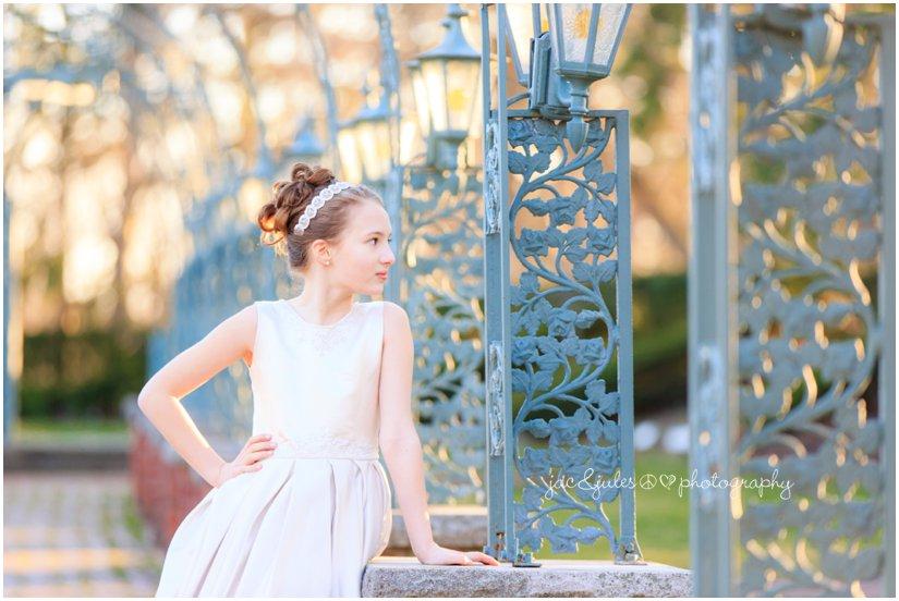beautiful girl at the manor by west orange, nj family photographer jacnjules