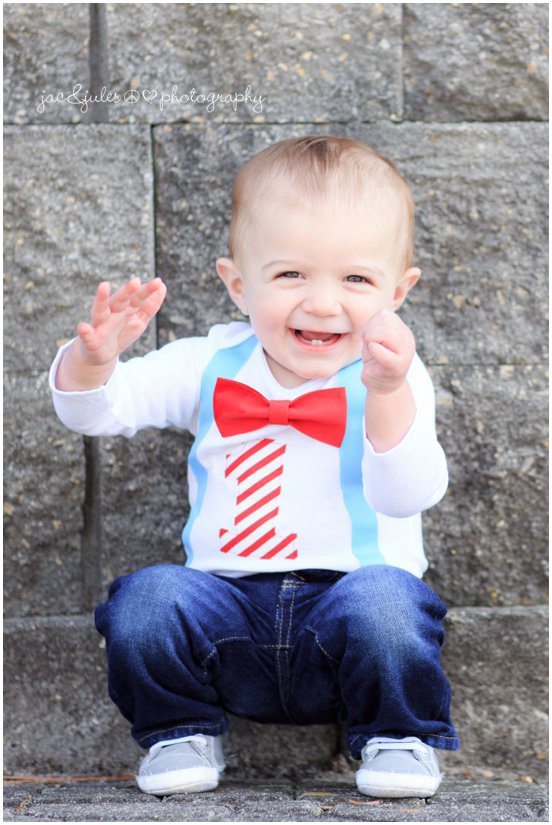 first birthday boy with suspenders and bow tie by jacnjules, beachwood, nj