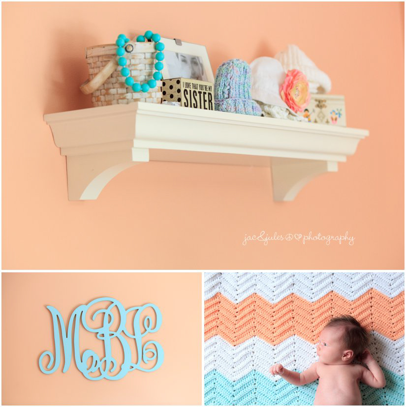 newborn baby girl nursery decor by professional newborn photographers jacnjules