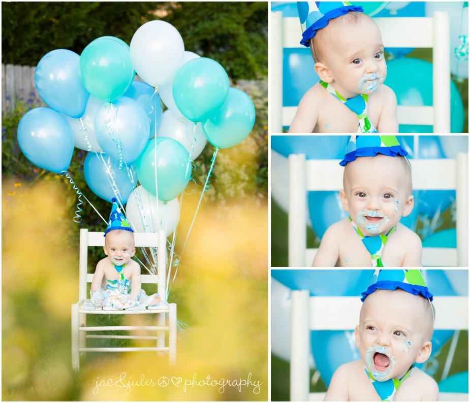 1st birthday photos taken in Toms River, NJ by JacnJules