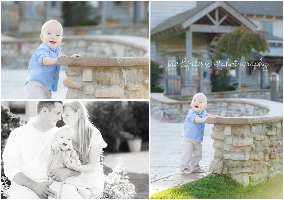 1yr old and his family photographed by JacnJules at beautiful Laurita Winery in NJ