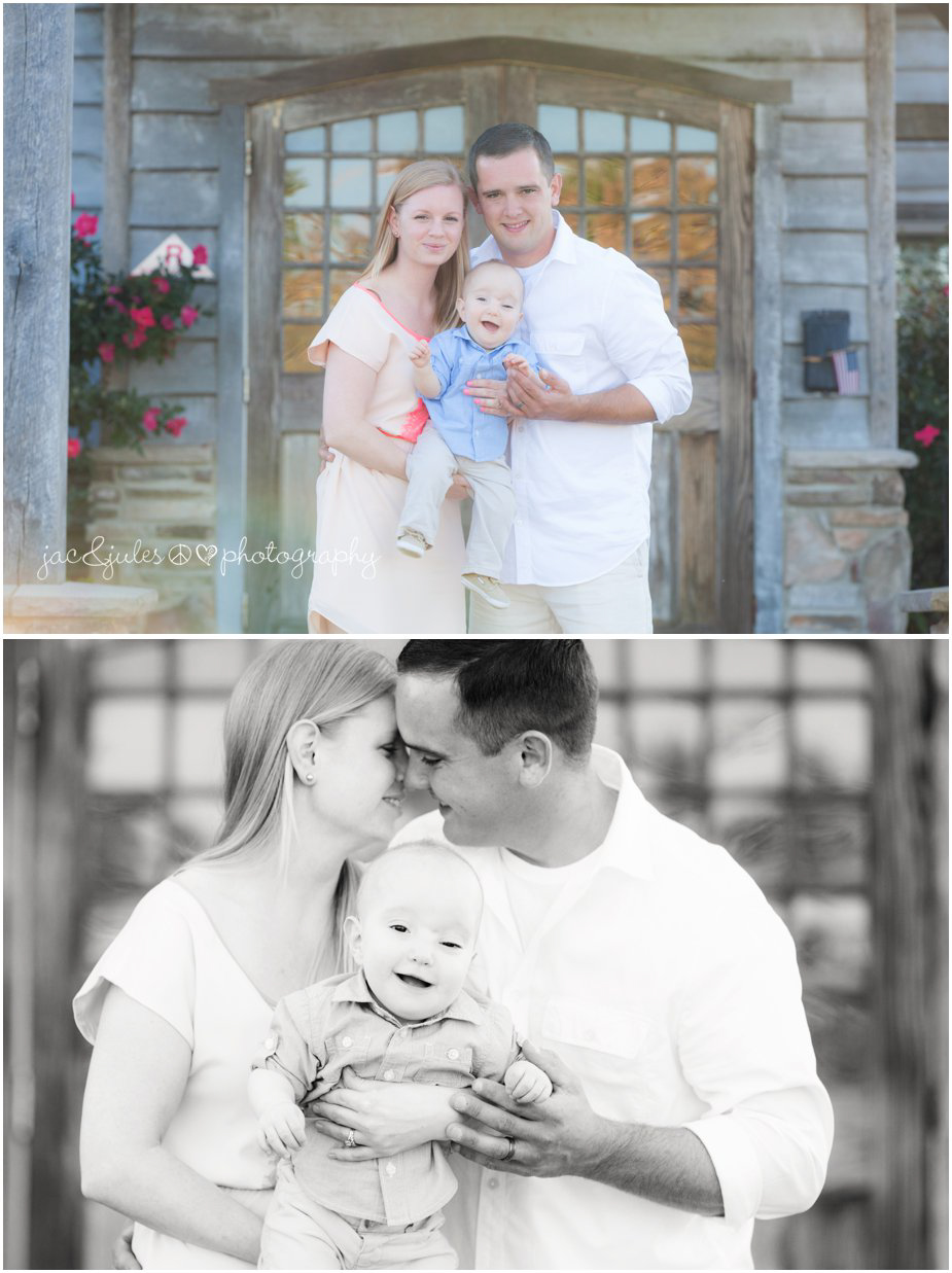 Beautiful family photos taken by JacnJules in front of Laurita Winery in NJ