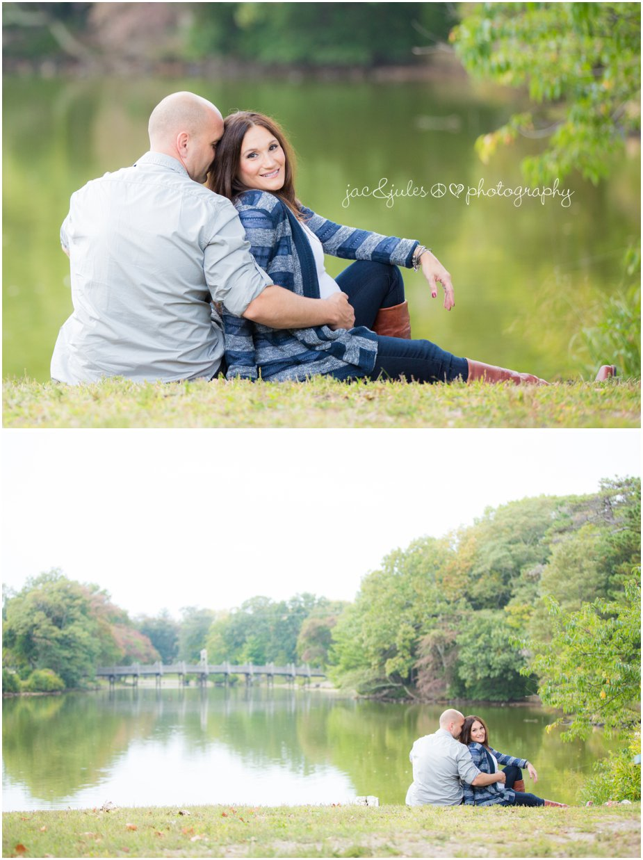 Maternity photos taken at Spring Lake, NJ by JacnJules