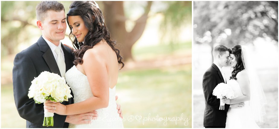 wedding photos with bride and groom at passion puddle in new brunswick nj by jacnjules