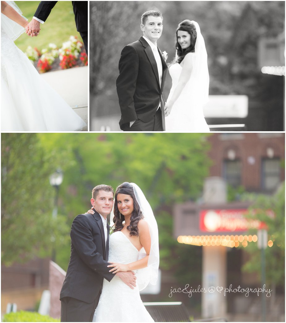 bride and groom photo at the heldrich in new brunswick nj by jacnjules