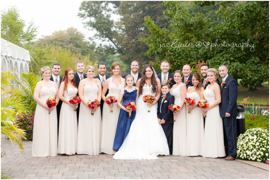 The bridal party photographed by JacnJules at Frogbridge in Millville, NJ