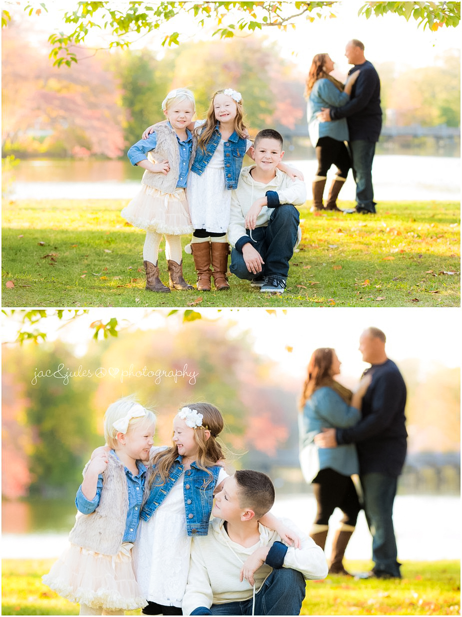 Modern and creative family photography by JacnJules at beautiful Divine Park in Spring Lake, NJ
