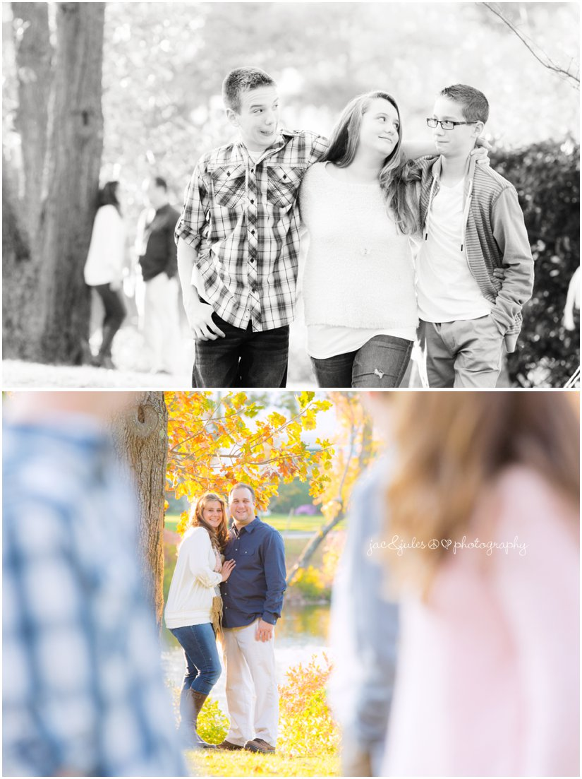 Modern and creative family photos taken at Divine Park in Spring Lake, NJ by JacnJules