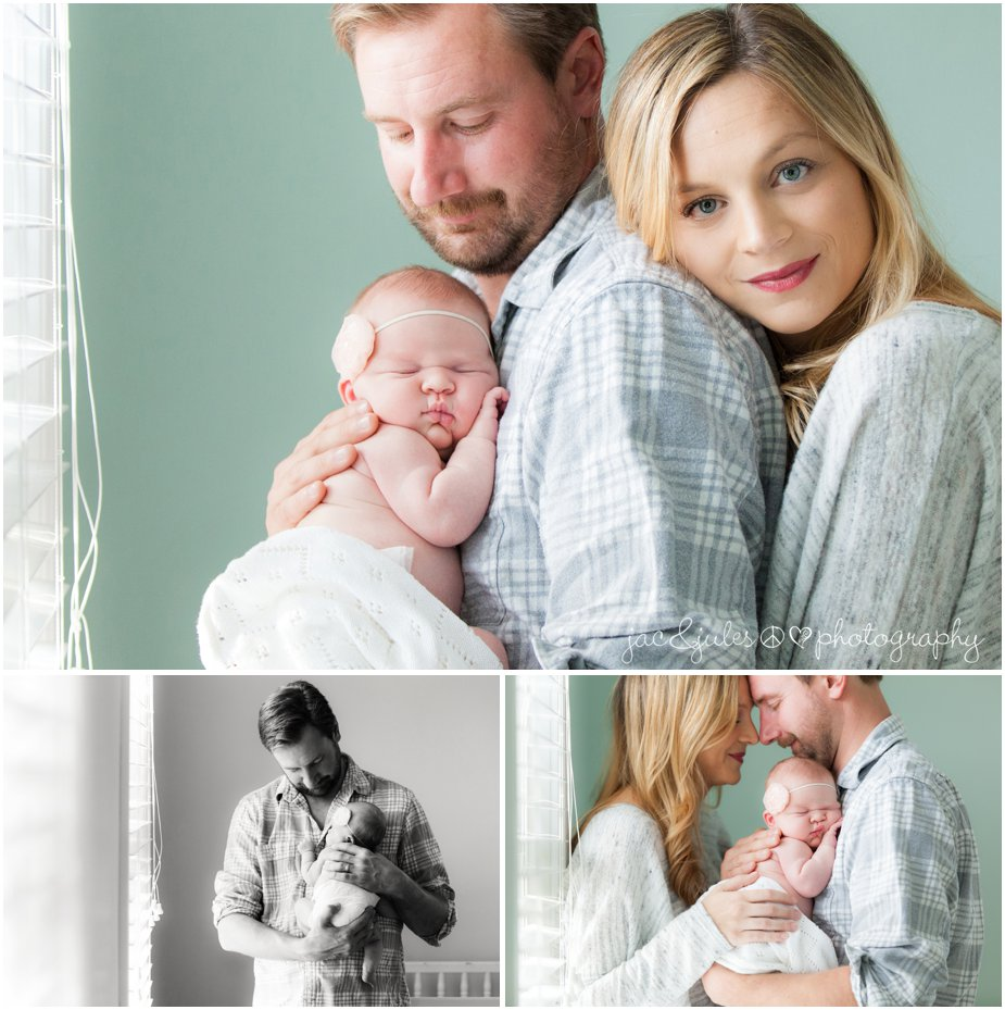 toms river in home newborn photography with mom and dad by jacnjules