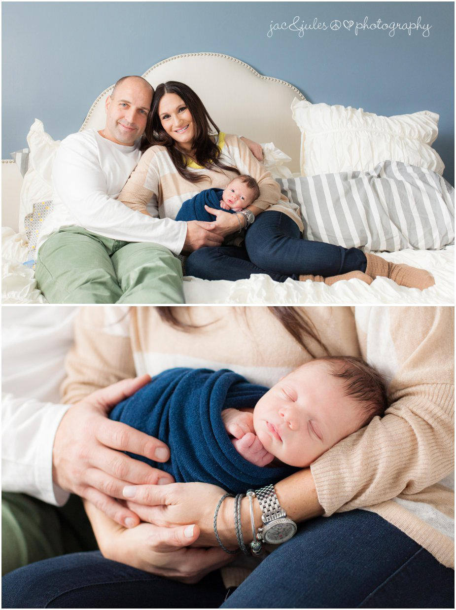 in home natural newborn and family pictures