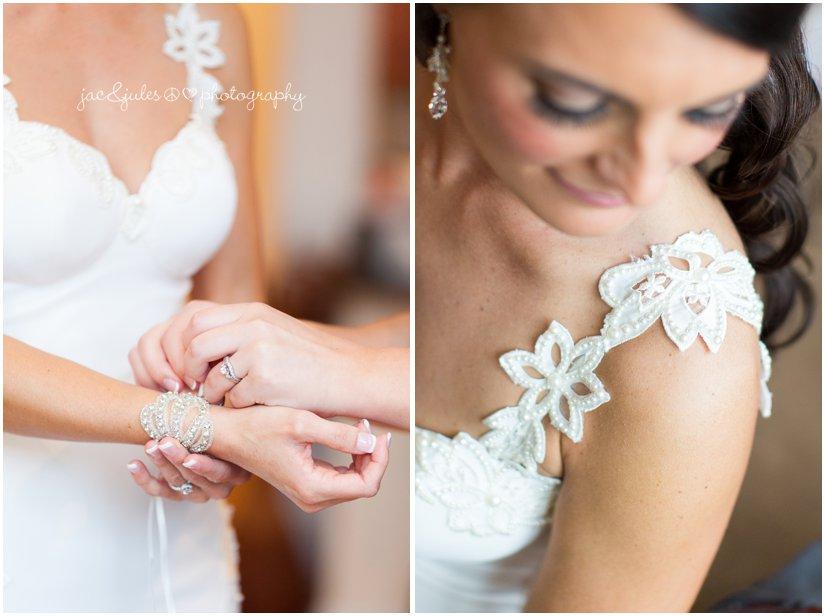 bridal details bracelet by foolish ginger in asbury park, nj
