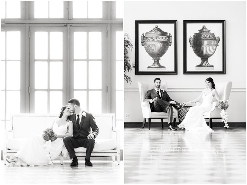bride and groom at the berkeley hotel in asbury park, nj