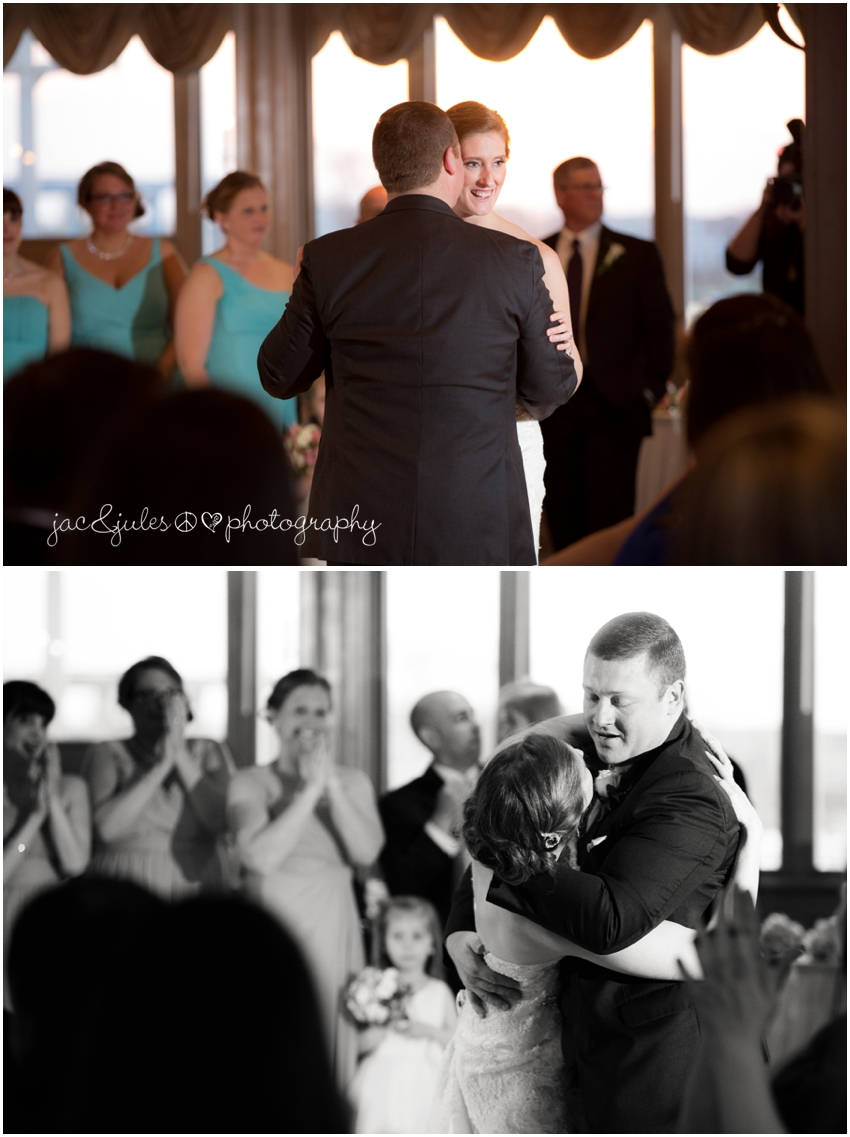 jacnjules photographs first dance at the channel club in monmouth beach nj