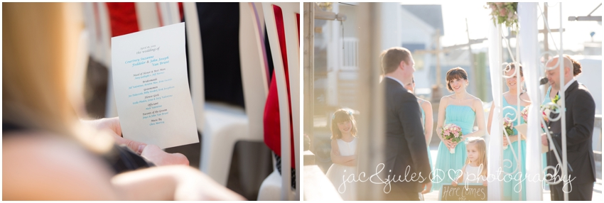 jacnjules photographs a wedding ceremony at the channel club in monmouth beach