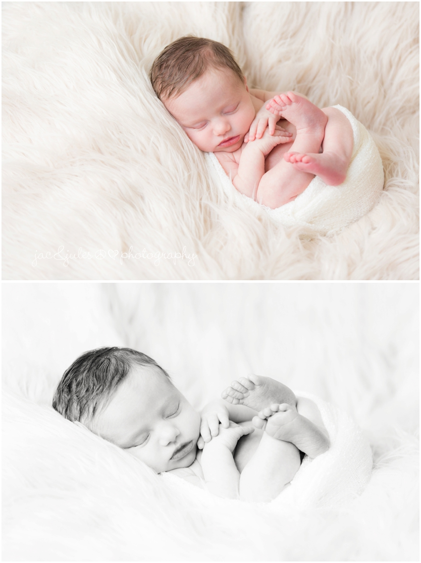 jacnjules photographs a newborn and her family in their home in upper black eddy, pa