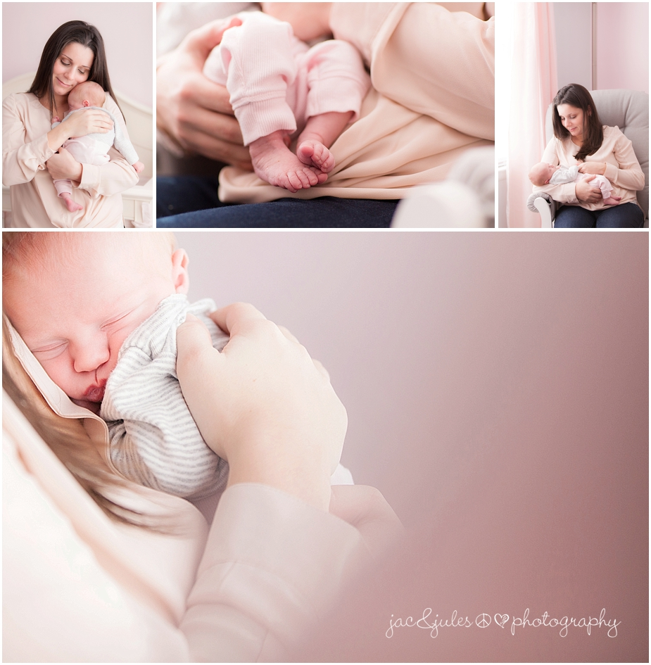 jacnjules photographs a newborn baby girl with her mom