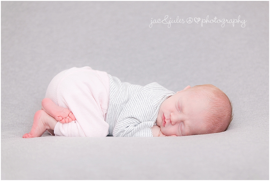 jacnjules photographs a newborn baby girl in their home in toms river nj