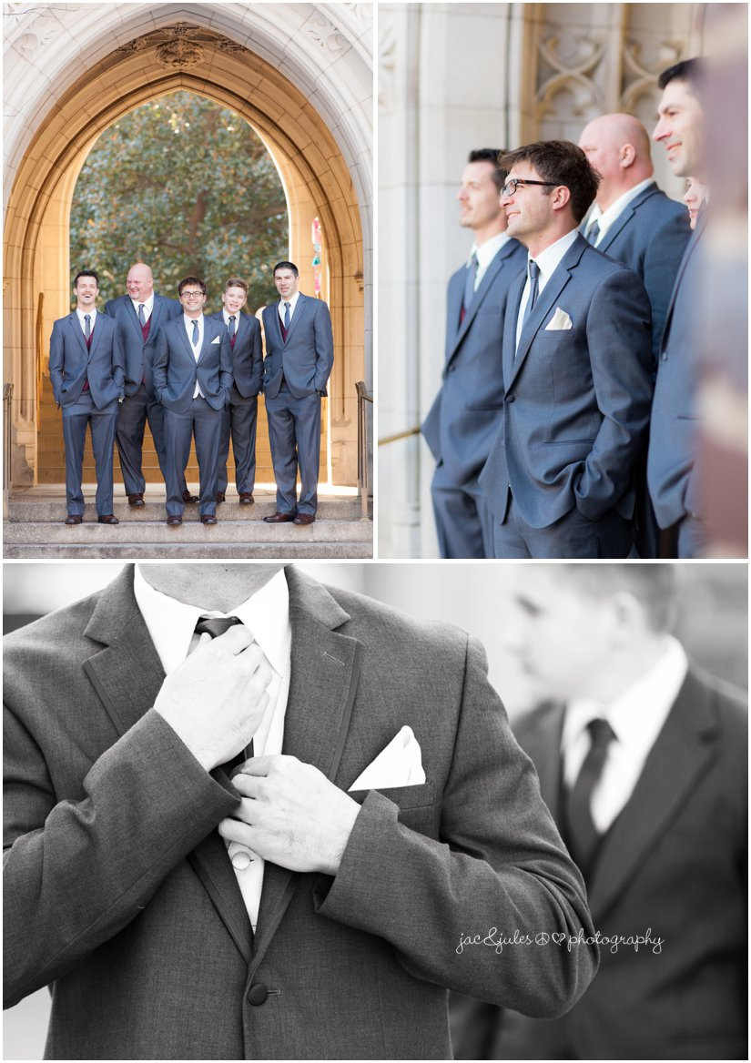 groomsmen and details