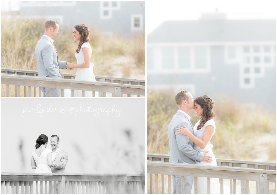 jacnjules photographs first look on the beach in LBI near The Stateroom