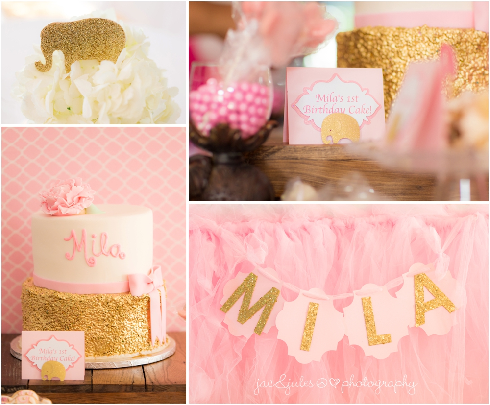 jacnjules photographs pink and gold bollywood themed 1st birthday party in princeton nj
