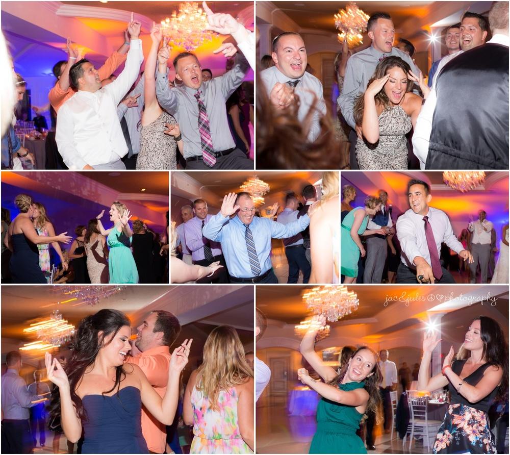 crazy wedding reception dancing
