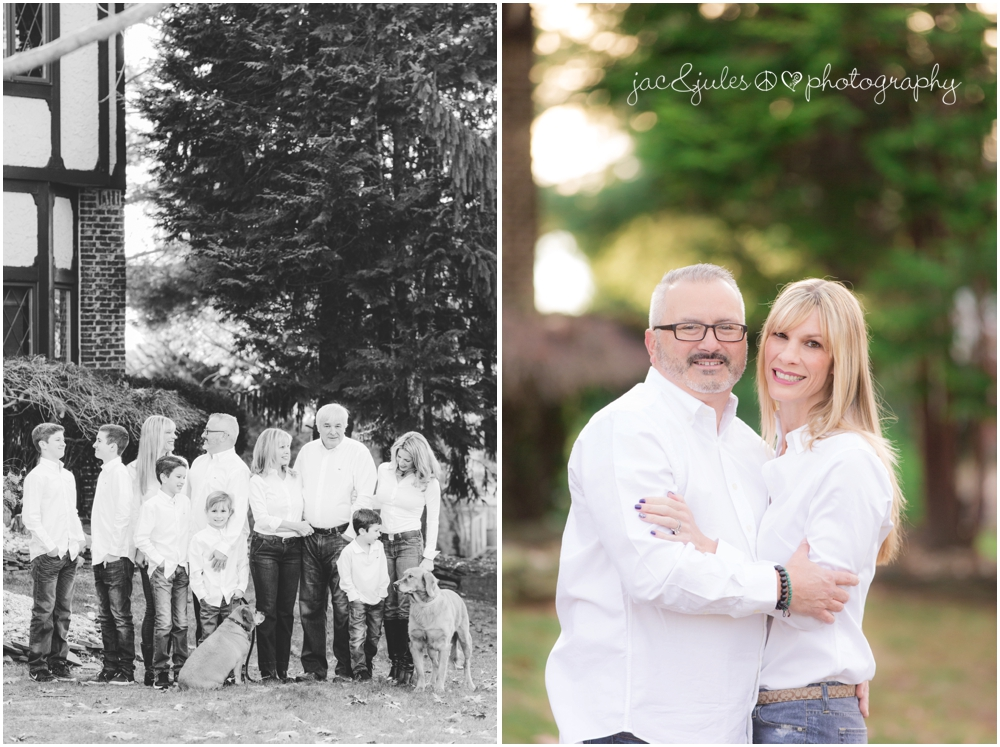 jacnjules photographs large family photo in east brunswick, nj