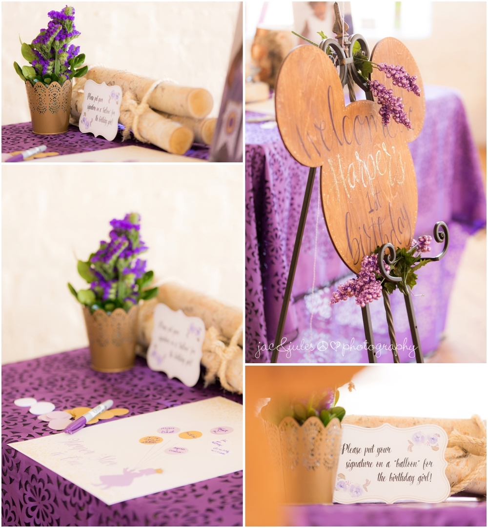 jacnjules photographs party decor at Lotus Studios in Highland Park, NJ