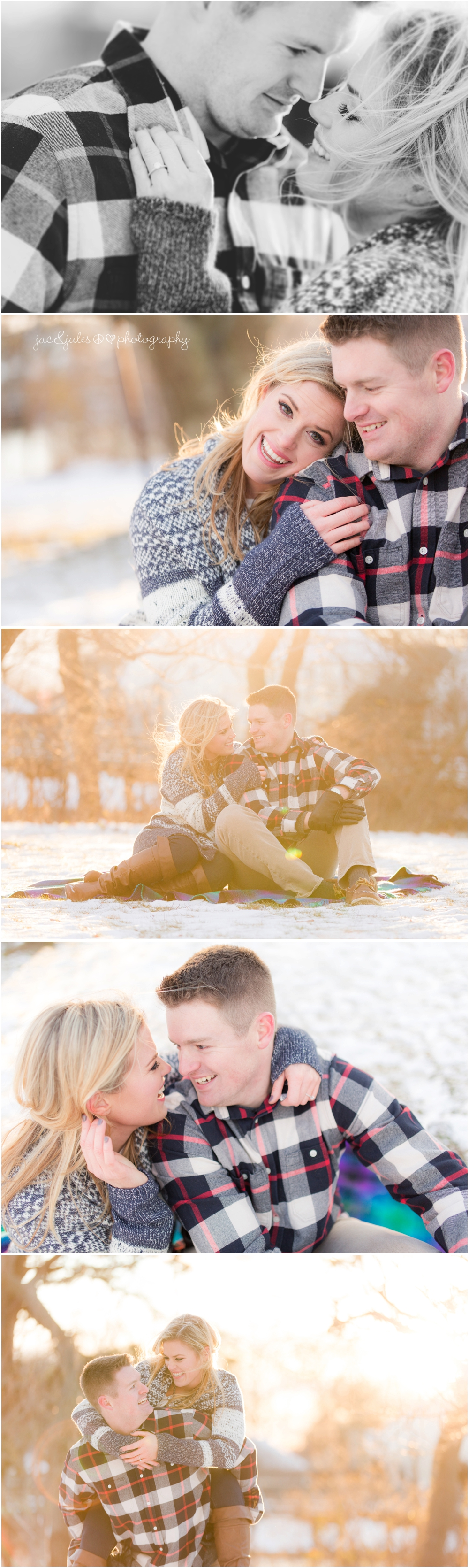 winter-engagement-photo-in-the-snow-spring-lake-nj-divine-park