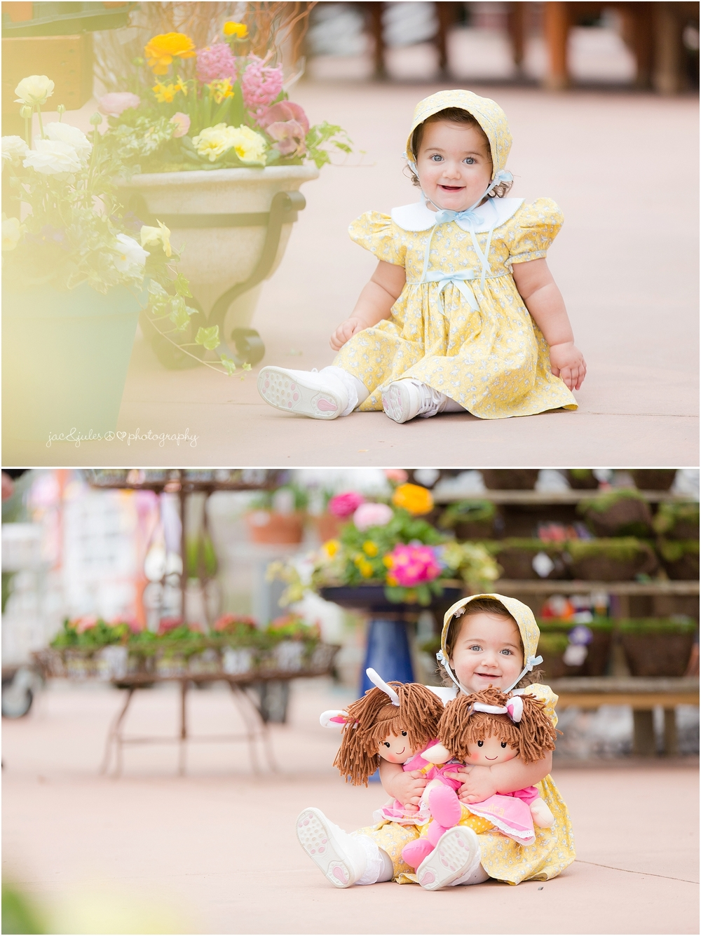 jacnjules photographs child's Easter photos at Barlows in Sea Girt, NJ