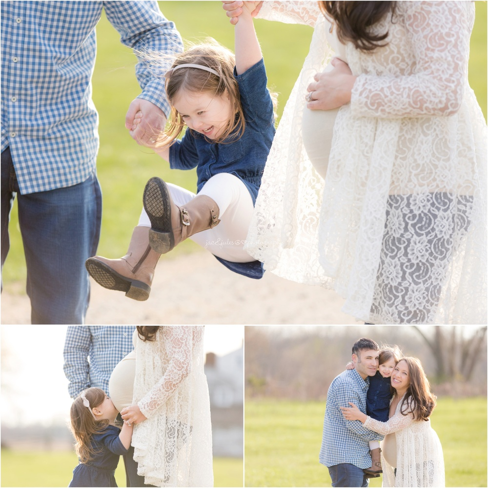 candid maternity family photos in freehold, nj