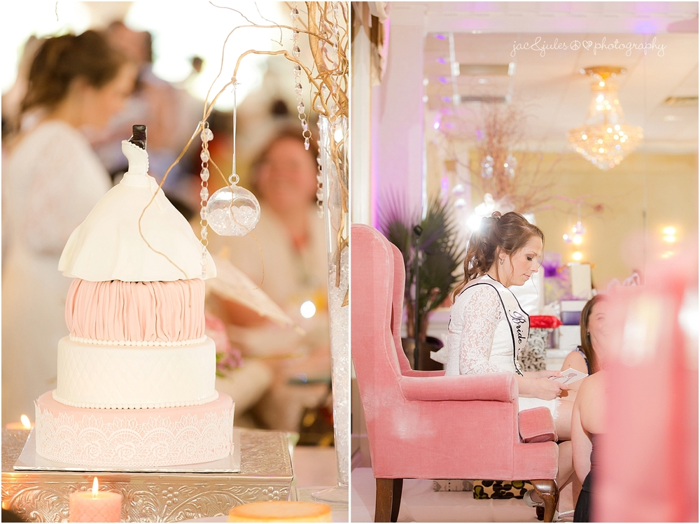 jacnjules photographs bridal shower at Wilshire Grand Hotel in West Orange, NJ