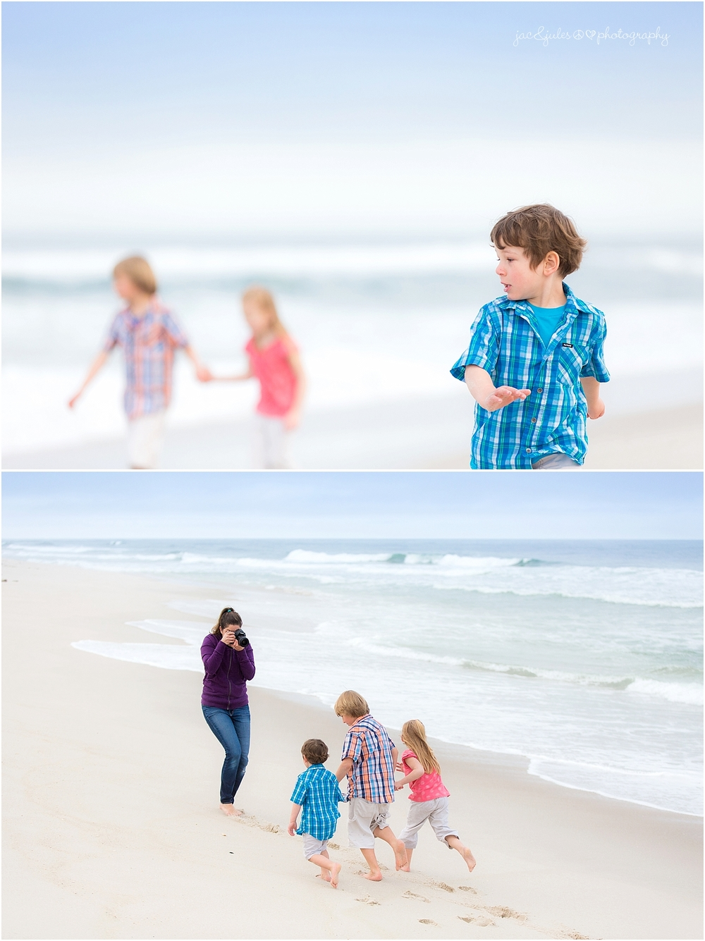 jacnjules photographs children on the beach at the jersey shore