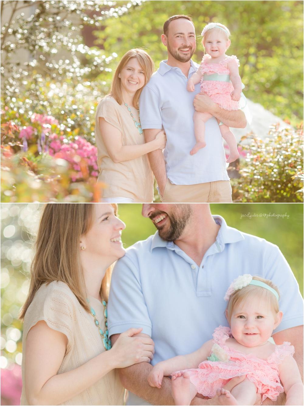 Family photos at St. Catherine's Church in Spring Lake, NJ