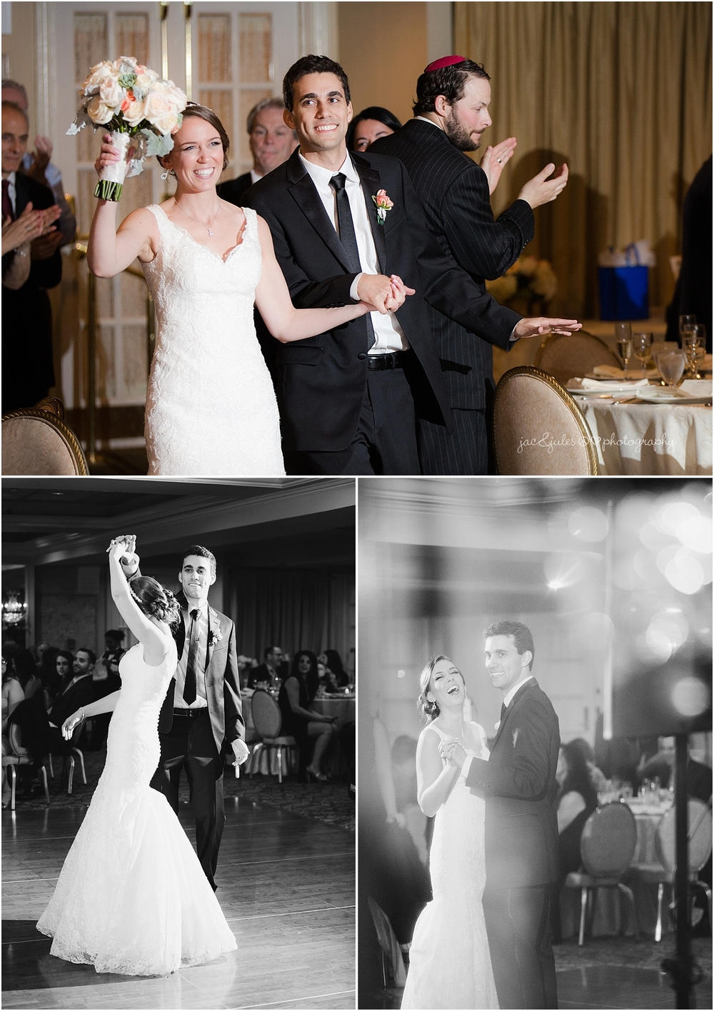 jacnjules photographs wedding reception at the olde mill inn in basking ridge nj