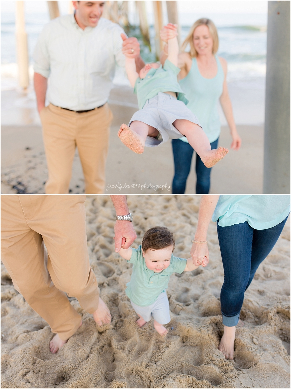 jacnjules photographs family on the beach in belmar nj