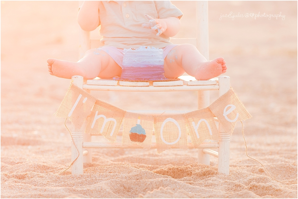 jacnjules photographs first birthday on the beach in belmar nj