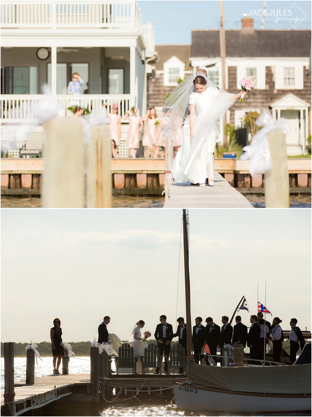 jacnjules photograph a beautiful beach wedding in mantoloking nj