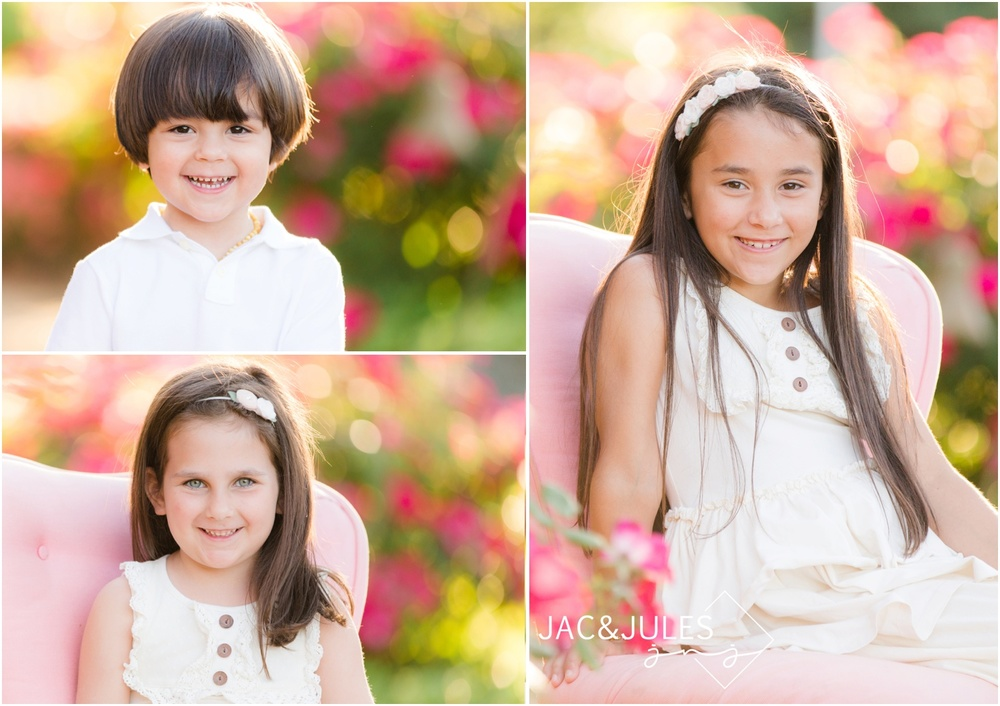 Child Headshots at St. Catherine's Church in Spring Lake.