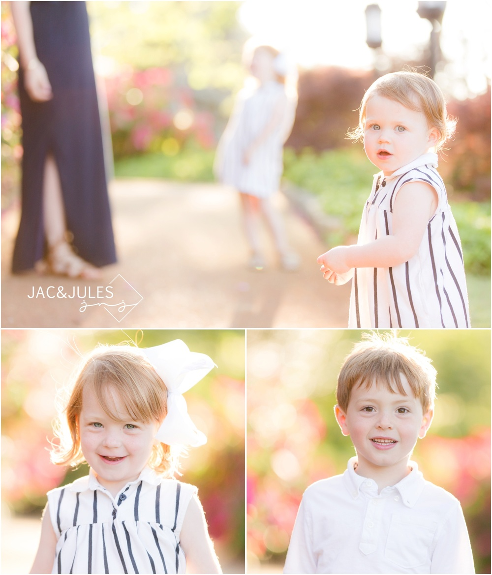 adorable ginger kids photos in spring lake, nj