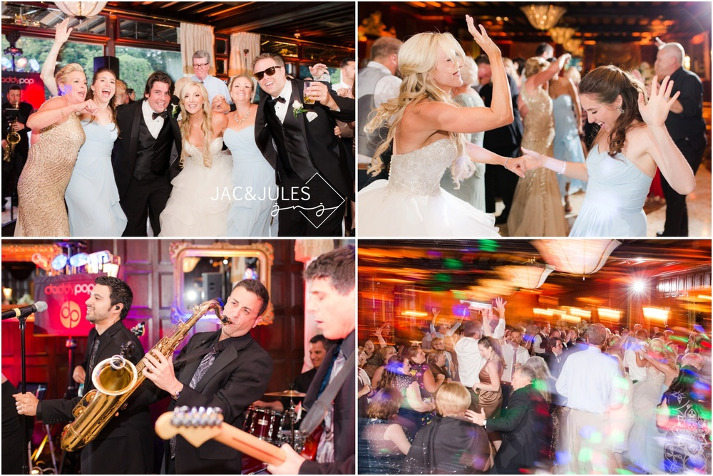 Daddy Pop gets the wild dance floor going at this Shadowbrook wedding in Shrewsbury, NJ.