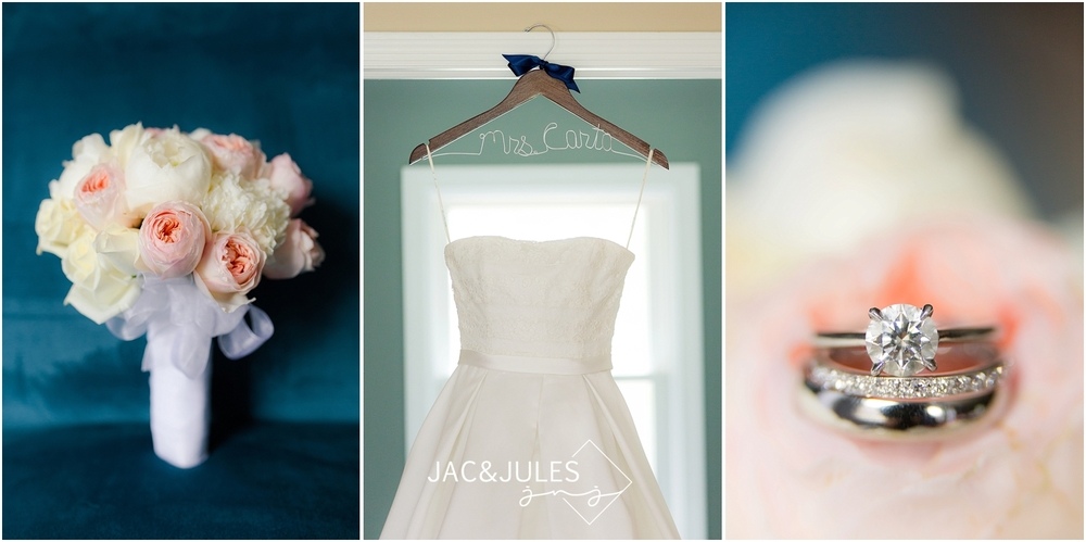 jacnjules photographs bridal details in Lebanon, NJ