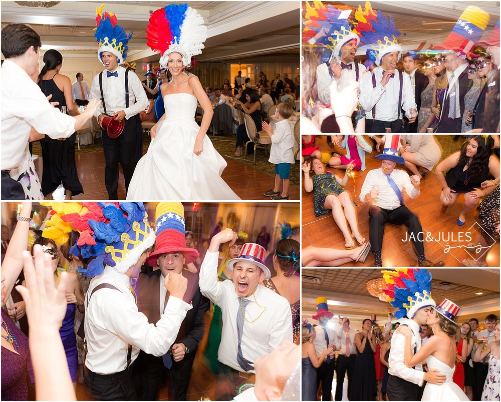 jacnjules photograph la hora local during reception at olde mill inn at basking ridge nj