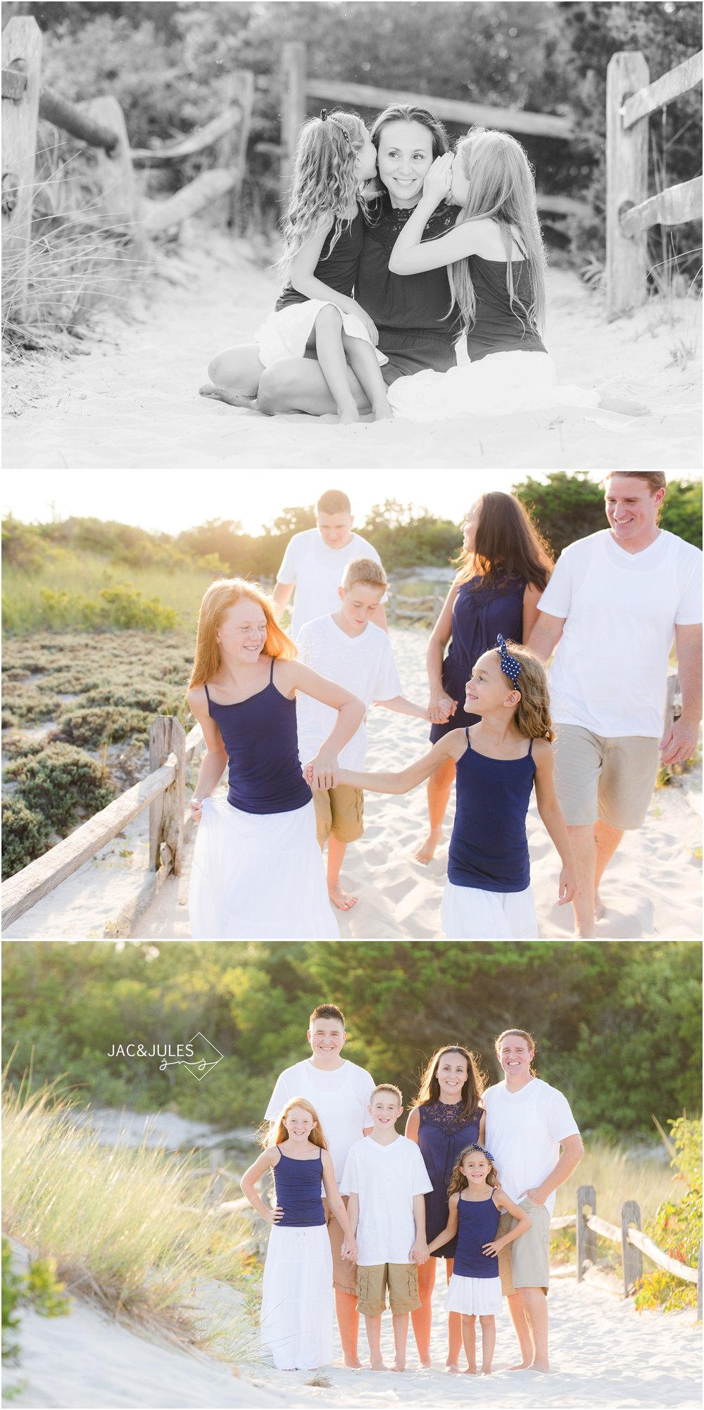 casual Family Photos in Seaside Park, NJ