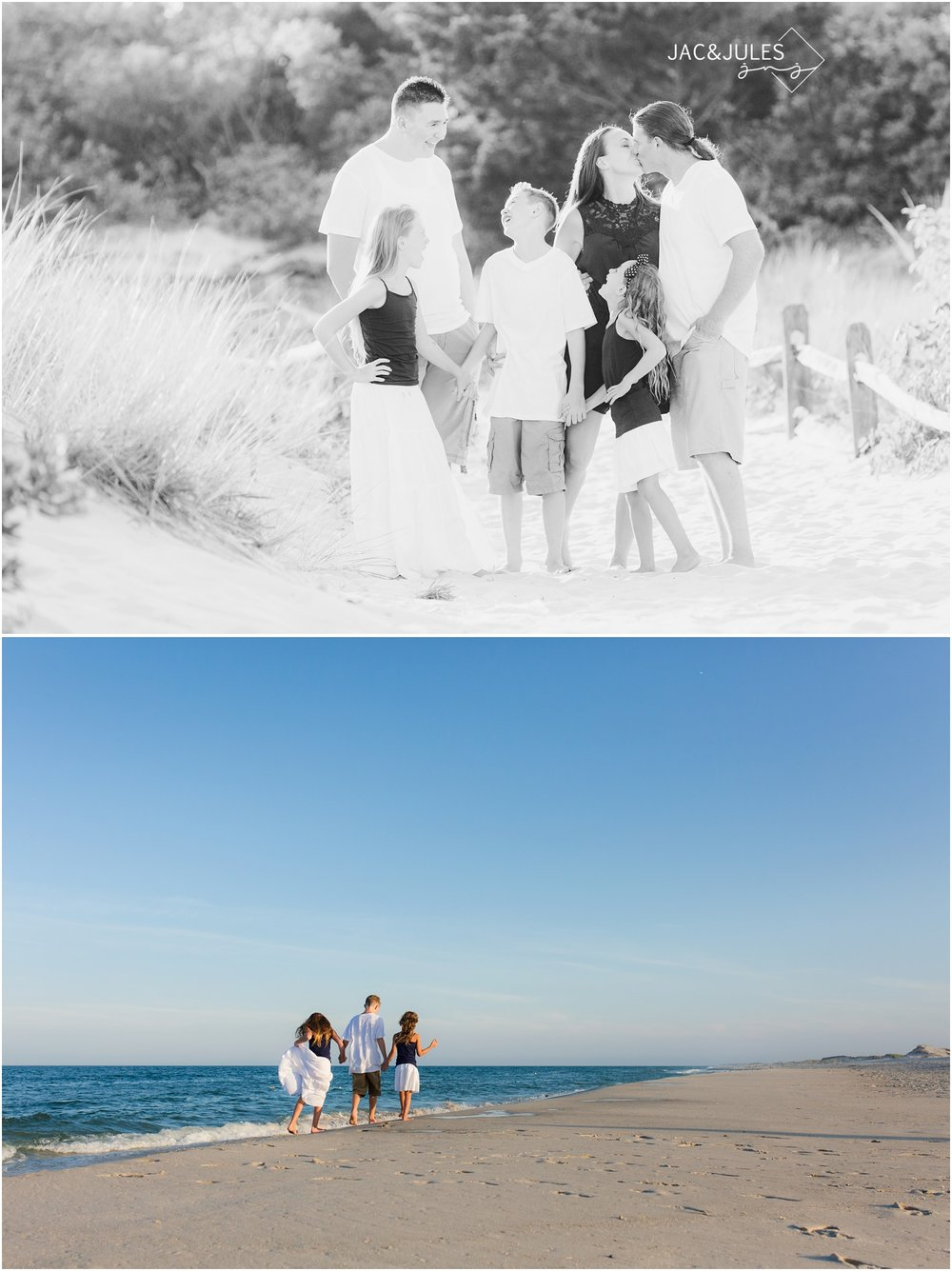 candid Family Photos in Seaside Park, NJ