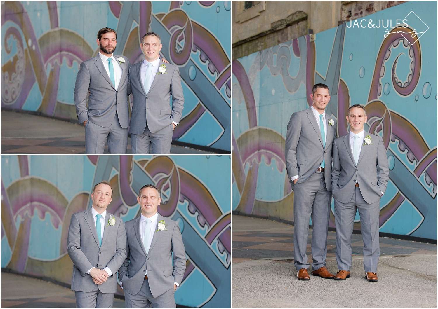 Asbury Park, NJ Wedding Portraits | Le Club Avenue + Ocean Place ...